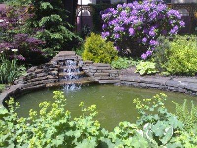 Водоём-пруд-ручей-фонтан